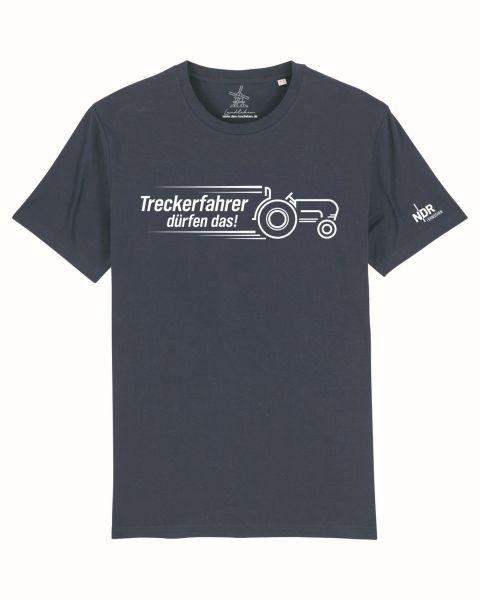 Unisex T-Shirt Dunkelblau 3XL