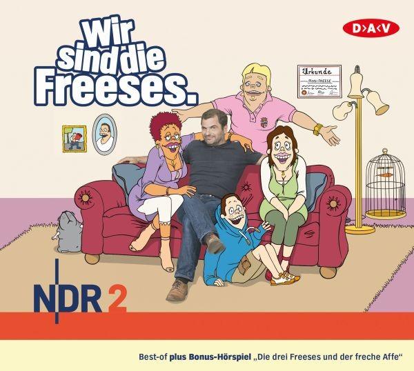 Wir sind die Freeses - 3 Audio-CDs