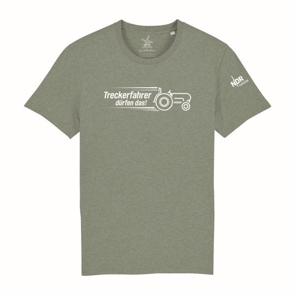 Unisex T-Shirt Khaki melliert