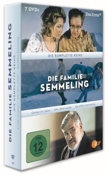 Die Familie Semmeling - Komplettbox