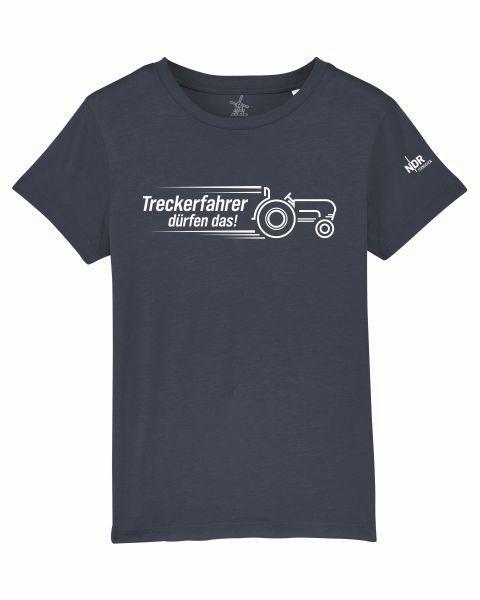 Kinder T-Shirt Dunkelblau